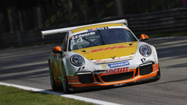 Sean Edwards Porsche 911 Supercup