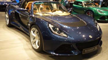 Geneva motor show Lotus Exige Roadster