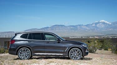 BMW X3 xDrive30d - profile