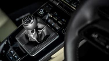 Porsche 911 Carrera S manual blue - console 2