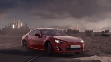 Toyota GT 86 advert banned in the UK