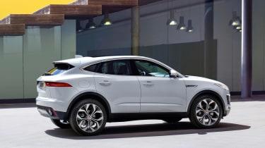 Jaguar E-Pace - white static side
