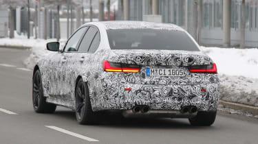 BMW M3 SPY - rear