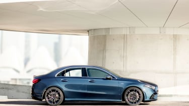 Mercedes-AMG A35 saloon - profile