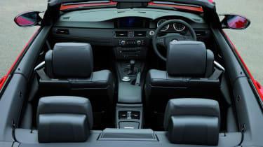BMW M3 Convertible interior