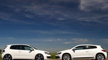VW Golf GTI and Scirocco TSI