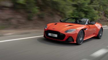 Aston Martin DBS Superleggera Volante front