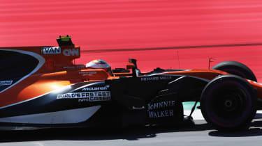 Formula One Round 9 AUT - McL 2