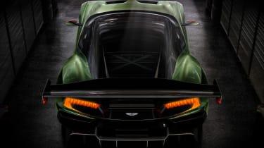 Aston Martin Vulcan - rear