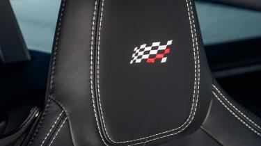 Jaguar F-Type Chequered Flag edition - headrest