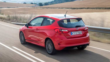 Ford Fiesta ST-Line - rear driving