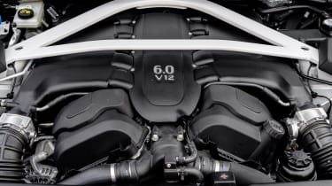 Aston Martin Vanquish S - engine