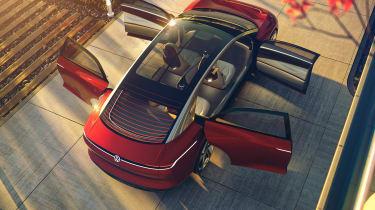 Volkswagen I.D. Vizzion – top shot