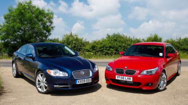 Jaguar XF DS vs BMW 535d