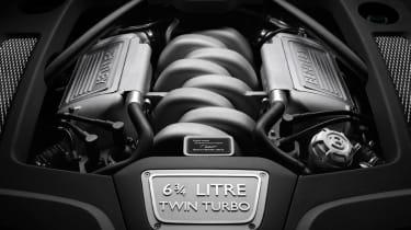 Bentley Mulsanne V8 engine