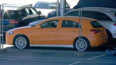 Mercedes A-Class spy - park