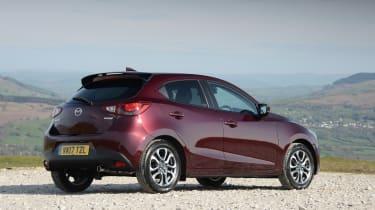 2017 Mazda 2 - rear