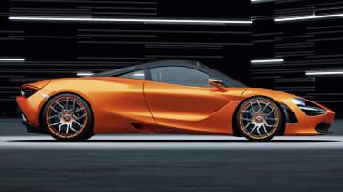 Wheelsandmore McLaren 720S – side