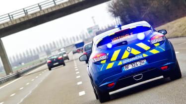 Police Renault Megane 250