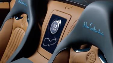 Bugatti Veyron Meo Costantini cubby hole