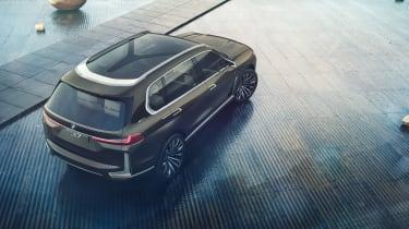 BMW X7 Concept - top