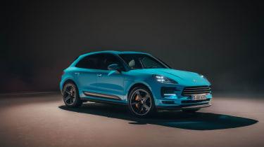 Porsche Macan – front quarter