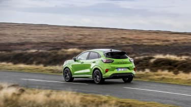 Ford Puma ST 2021 review – rear pan