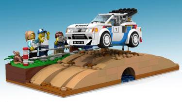 LEGO Peugeot 205 T16 - front