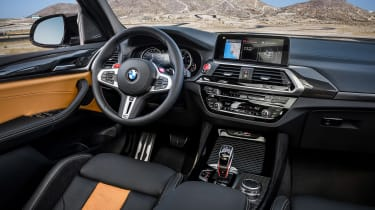 BMW X3M - interior