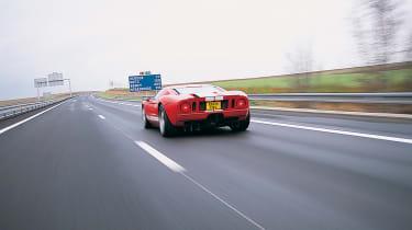 Ford GT Colorado Red - motorway