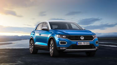 VW T-Roc - Blue front