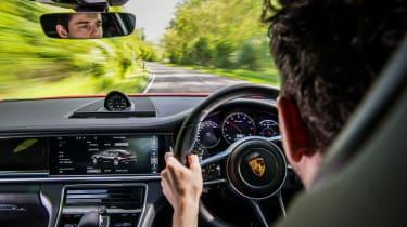 Porsche Panamera Turbo – cabin