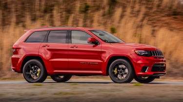 Jeep Grand Cherokee Trackhawk - side