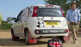 Fiat Panda Africa record run - Day 3