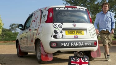 Fiat Panda Africa record run - Day 3