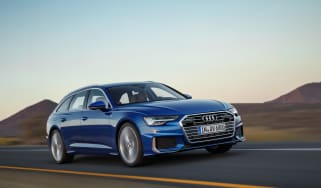 Audi A6 Avant launch - front quarter