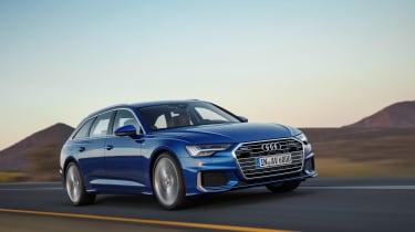 Audi A6 Avant launch - front quarter
