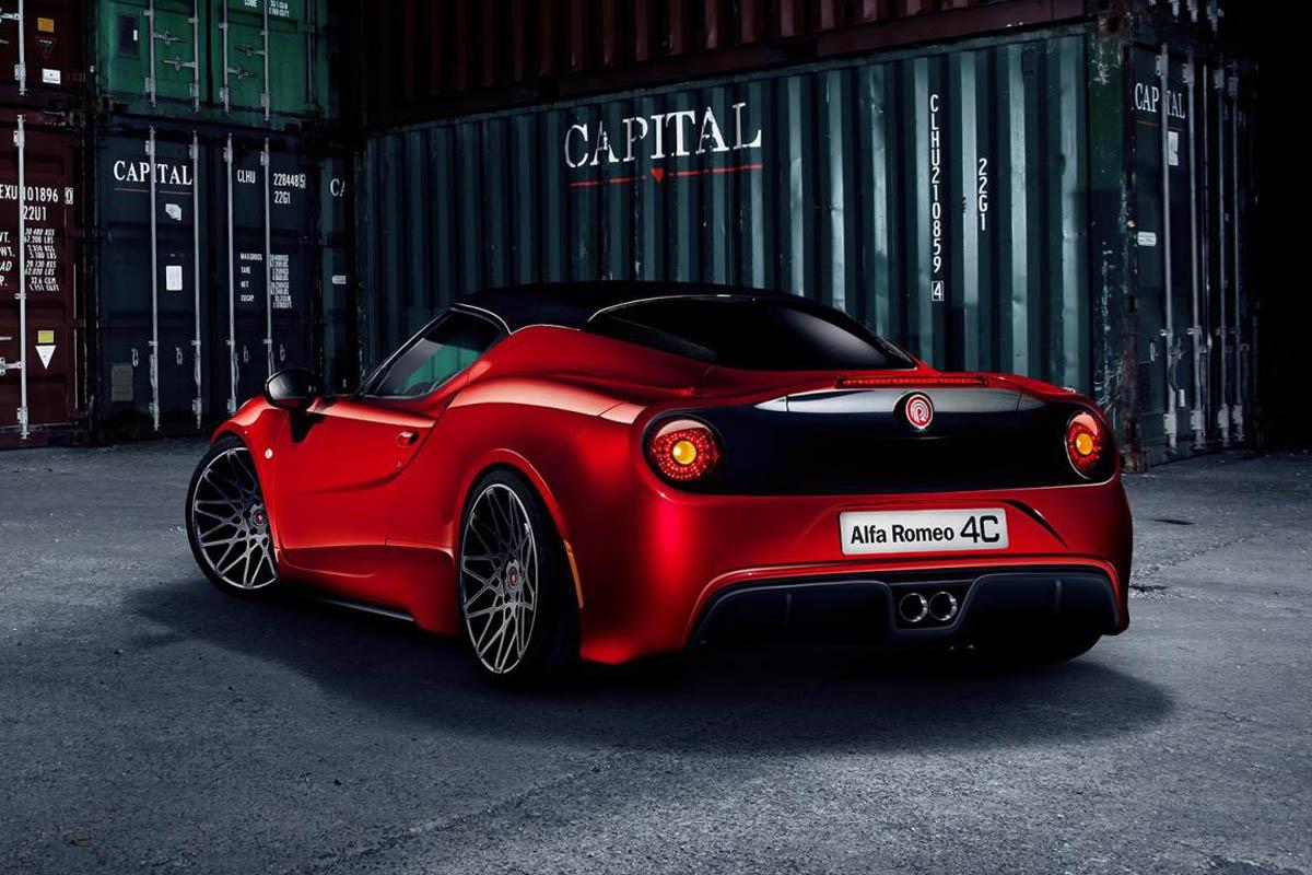 Alfa Romeo 4c Tuned By Pogea Evo