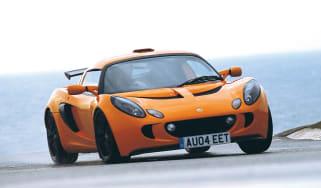 Lotus Exige S2 on track