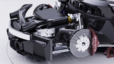Alpine A110 GTA concept – axles