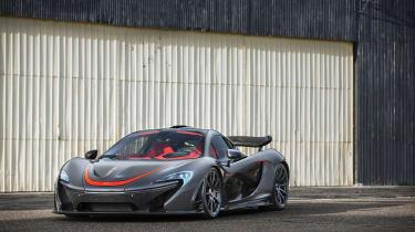 McLaren P1 - front quarter