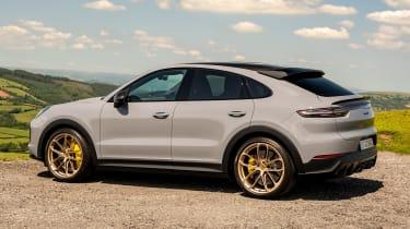 Porsche Cayenne Coupe Turbo GT – side