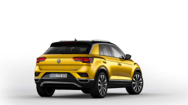 VW T-Roc - Yellow rear