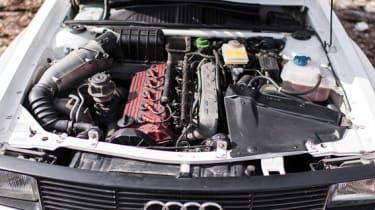Audi Sport Quattro - Engine