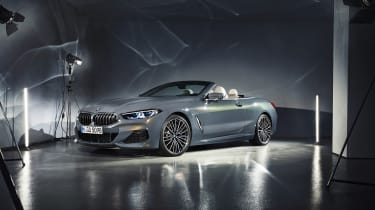 BMW 8-series Convertible - front quarter