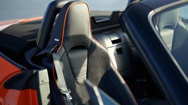 Mazda MX-5 30th Anniversary - seats