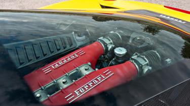 Ferrari 458 Italia engine