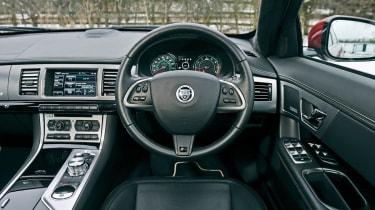 2013 Jaguar XFR Speed Pack interior dashboard