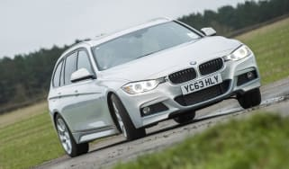BMW 330d xDrive drift