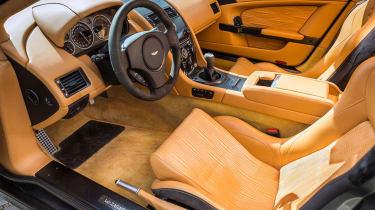 Aston Martin V12 Zagato Coupe – interior